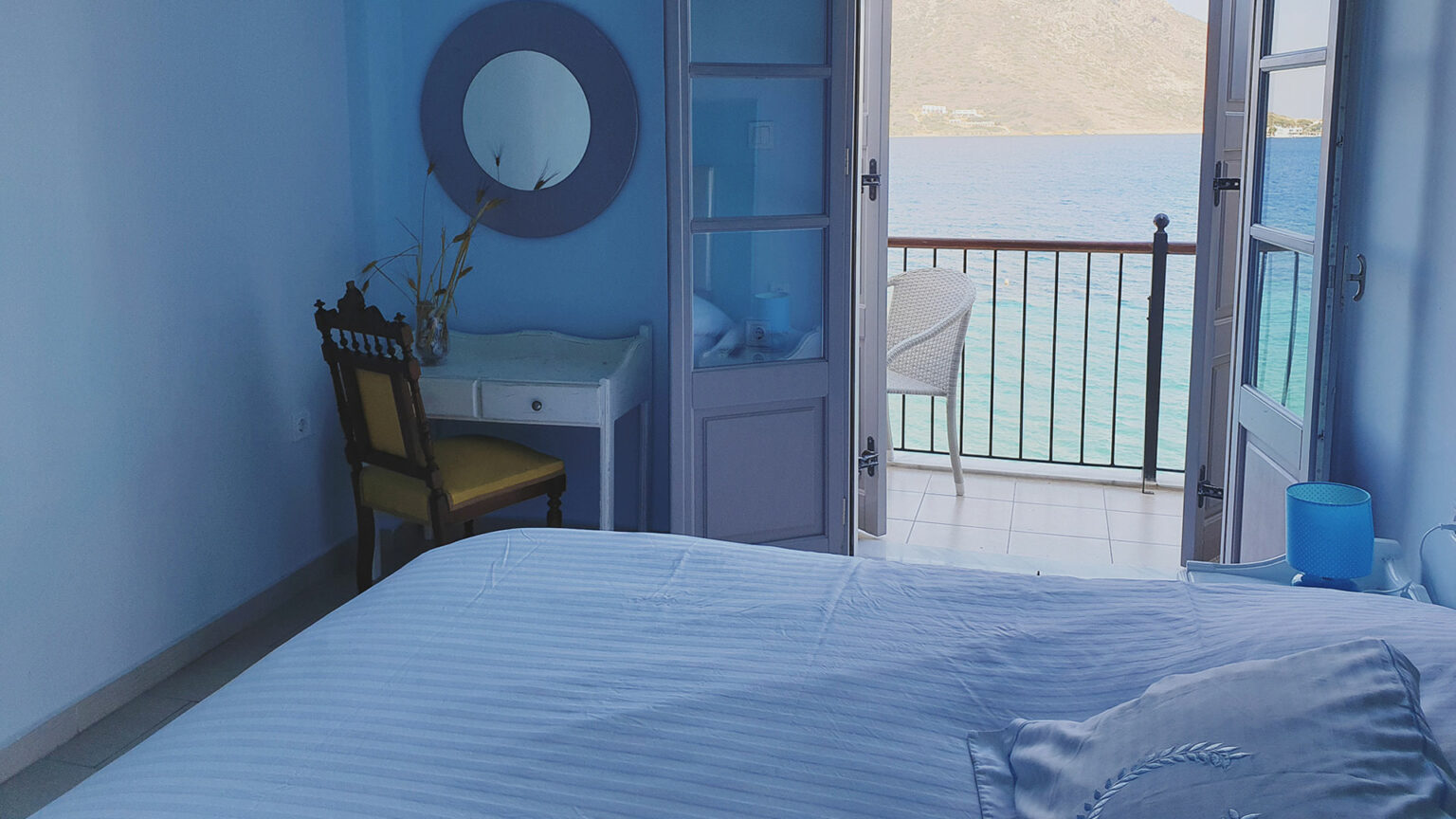 "Double/twin sea view room ""Sapfo"""